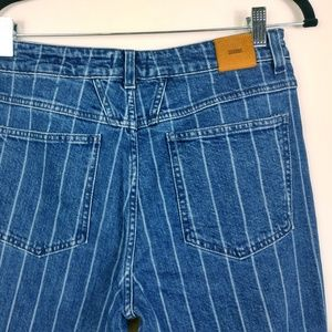 Closed Jeans - Closed Day High Rise Striped Girlfriend Jeans NWT